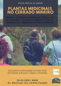 Caminhada Plantas Medicinais no Cerrado Mineiro
